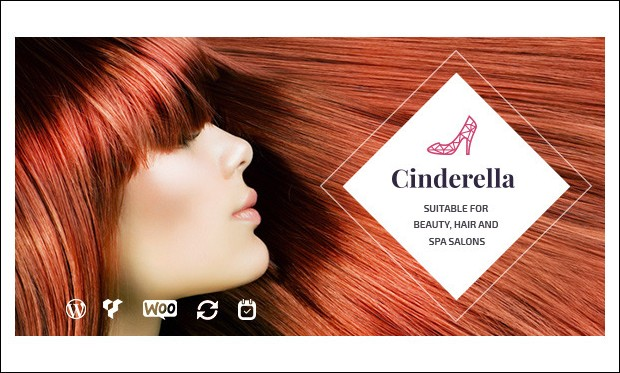 cinderella - WordPress Themes for Salons