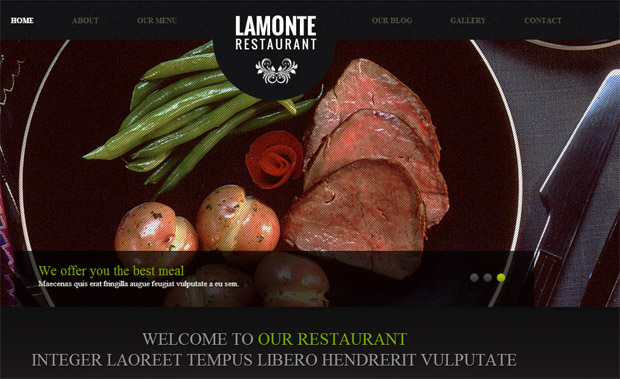 LaMonte - Responsive Recipe WordPress Theme