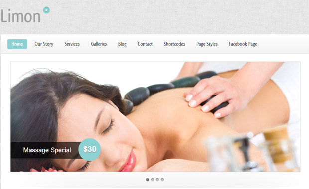 Limon - Salon Responsive WordPress Theme