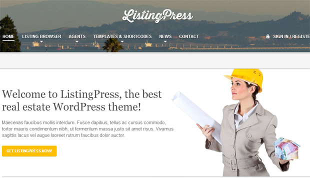 Listing Press - Responsive Real Estate Theme