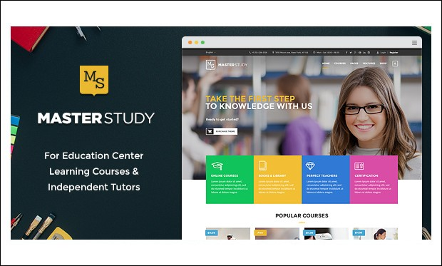 Masterstudy - Educational Blogs WordPress Themes