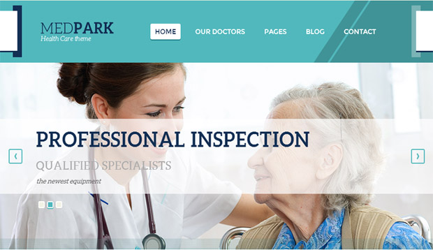MedPark - Responsive Medical WordPress Theme