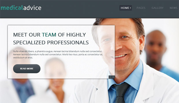 Medical Advice - Responsive Medical WordPress Theme