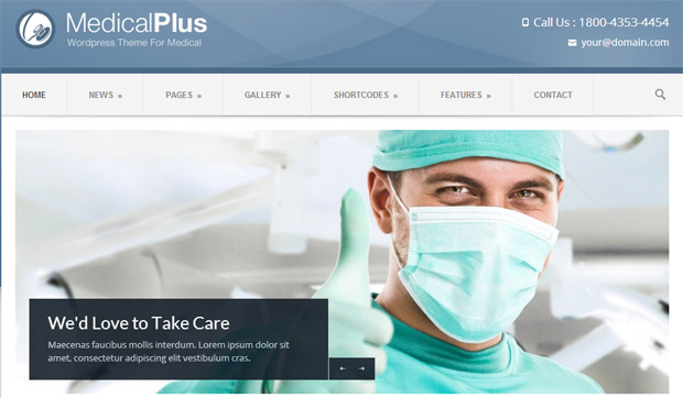 Medical Plus - Responsive Medical WordPress Theme