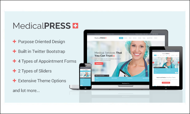 MedicalPress - WordPress Themes for Acupuncture Websites
