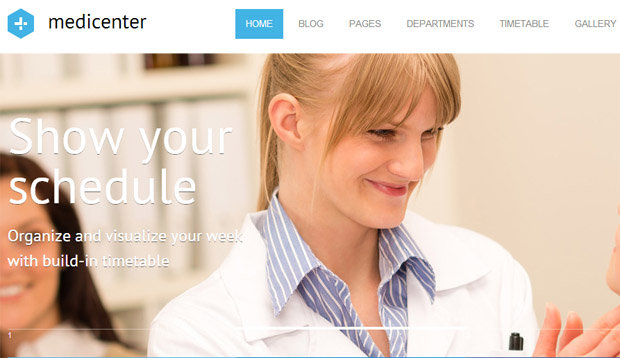 Medicenter - Responsive Medical WordPress Theme
