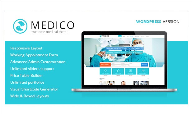 Medico - Medical Doctors WordPress Themes