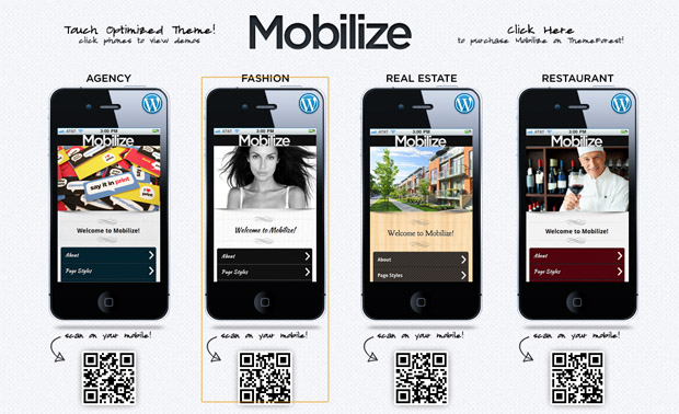 Mobilize - Mobile Responsive Theme