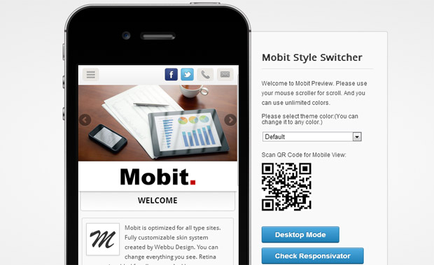 Mobit - Mobile Responsive Theme