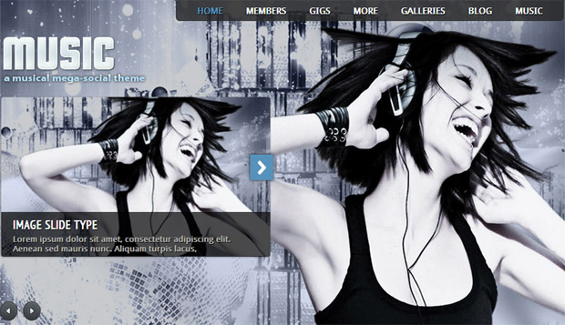 Music - Responsive Music Blog WordPress Theme