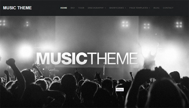 Music Theme - Responsive Music Blog WordPress Theme
