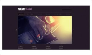 MusicBand - WordPress Themes for Music Blogs