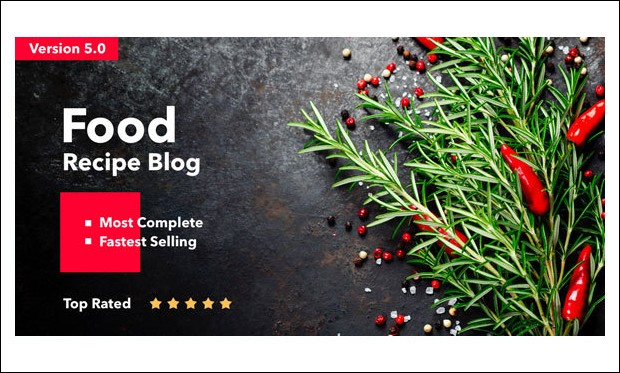 Neptune - WordPress Theme for Recipe Magazines