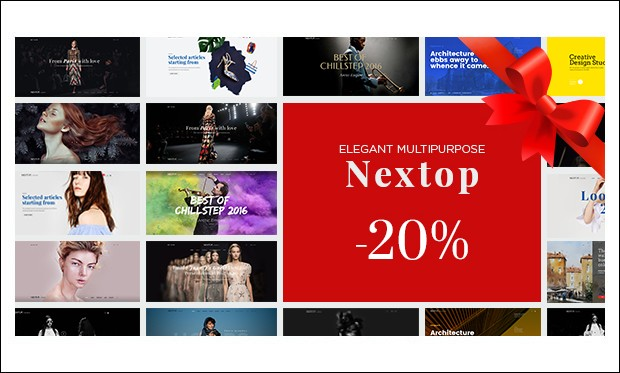 Nextop - WordPress Themes for Artists