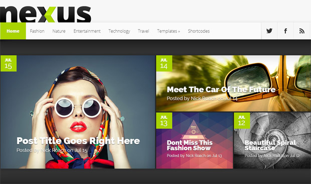 Nexus - Mobile Responsive Theme