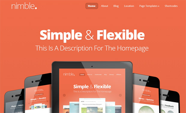 Nimble - Mobile Responsive Theme