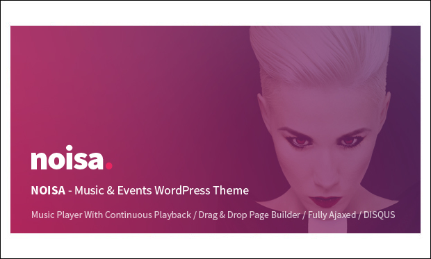 Noisa - WordPress Themes for Music Blogs