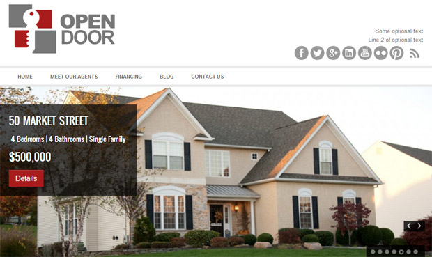 Open Door - Responsive Real Estate Theme