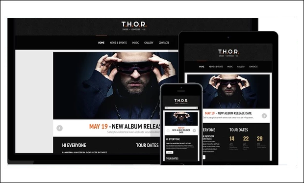 Original Singer - WordPress Themes for Music Blogs