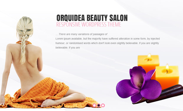Orquidea - Salon Responsive WordPress Theme