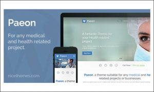 Paeon - WordPress Themes for Medical Websites