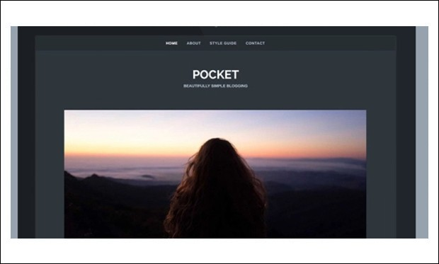 Pocket - Writer WordPress Responsive Themes
