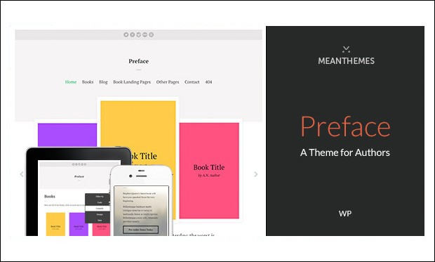 Preface - Writer WordPress Responsive Themes
