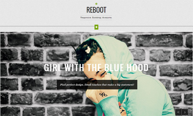 Reboot - Responsive Retro WordPress Theme