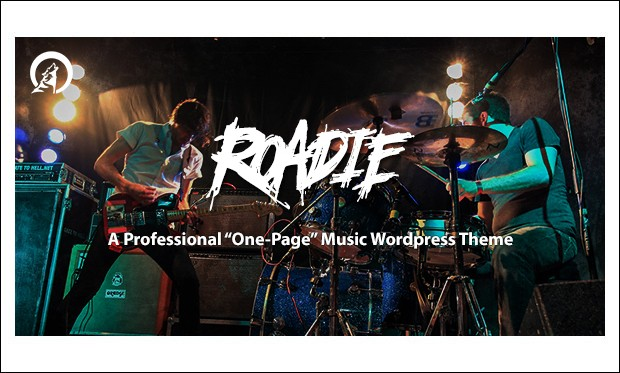 Roadie - WordPress Themes for Music Blogs