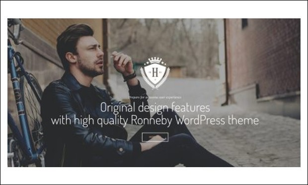 Ronneby - Retro WordPress Themes