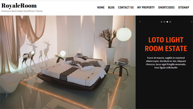 Royale Room - Responsive Real Estate Theme