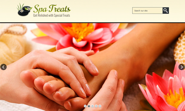SPA Treats - Salon Responsive WordPress Theme