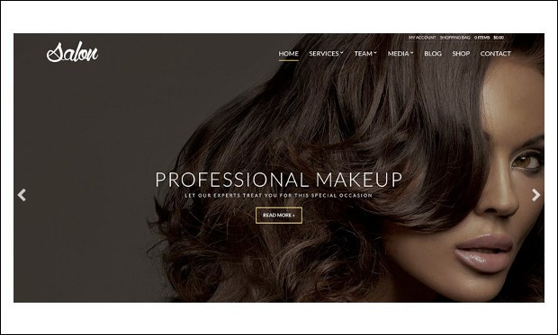 Salon - WordPress Themes for Salons
