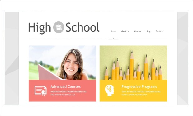Schoolmaster - Educational Blogs WordPress Themes