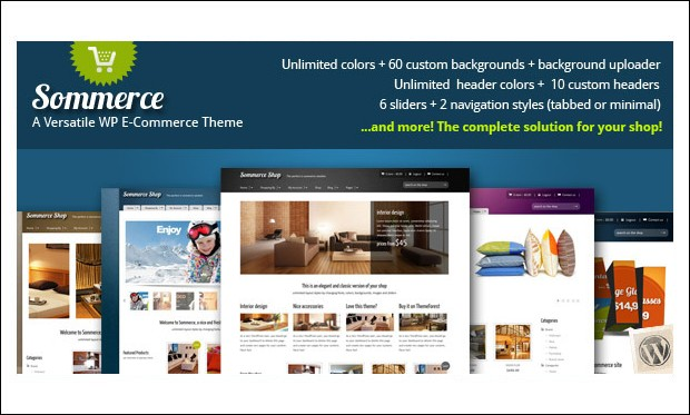 Sommerce Shop - Retail Store WordPress Themes