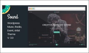 Sound - WordPress Themes for Music Blogs