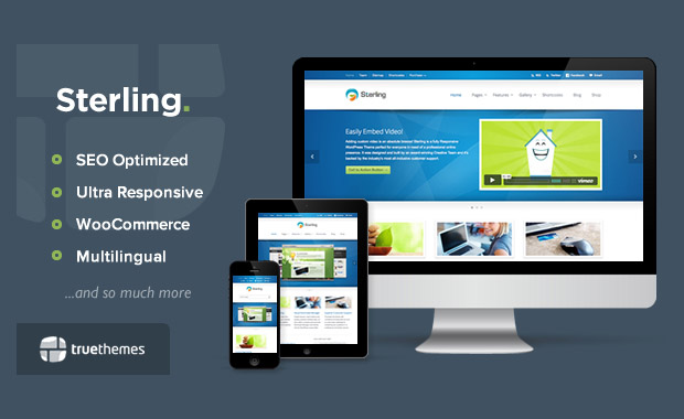 Sterling - Mobile Responsive Theme