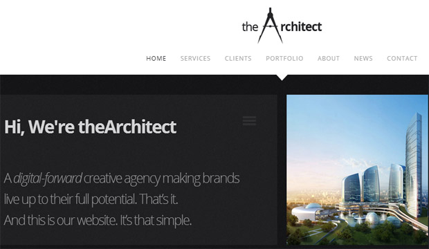 The Architect - Responsive Constructor WordPress Theme