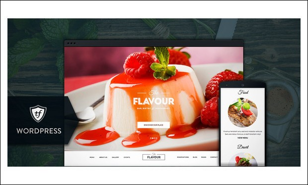The Flavour - WordPress Theme for Recipe Magazines