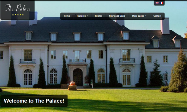 The Palace - Responsive Hotel WordPress Theme
