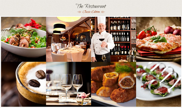 The Restaurant - Responsive Wine WordPress Theme