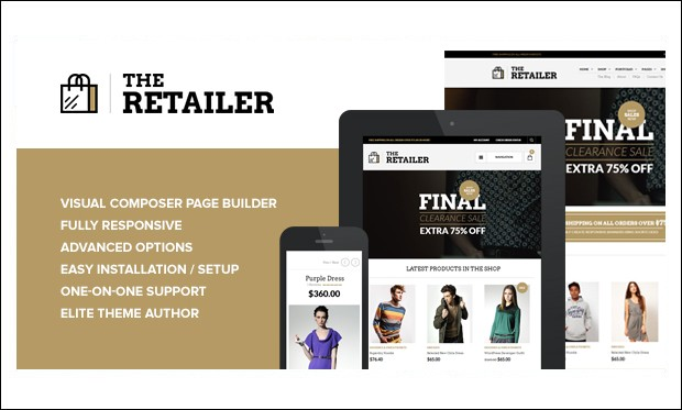 The Retailer - Retail Store WordPress Themes