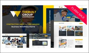 TheBuilt - WordPress Themes for Construction Companies