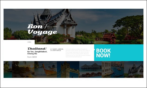 Tour Operator - WordPress Responsive Themes for Tourism Websites