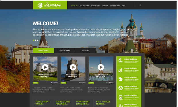 Travel Guide - WordPress Responsive Themes for Tourism Websites