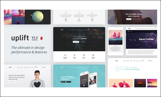 Uplift - WordPress Theme for Technology Blog