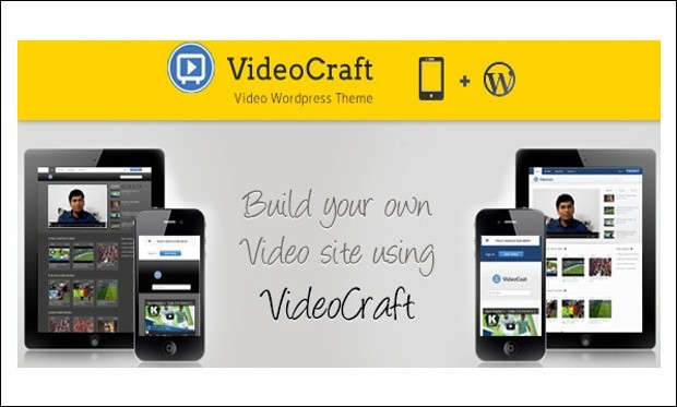VideoCraft - Video Based WordPress Themes