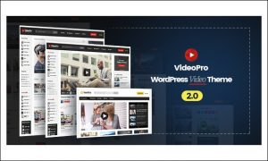 VideoPro - Video Magazine WordPress Themes