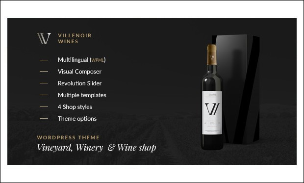 Villenoir - Wine WordPress Themes