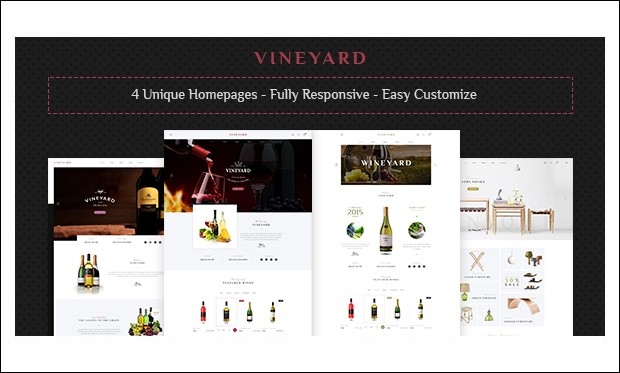 Vineyard - Wine WordPress Themes